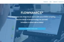 Image of the new homepage Madison Music Experience created for Flownamics Inc.